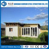 형식에 의하여 주문을 받아서 만들어지는 조립식 모듈 가벼운 강철 집