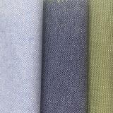 Tessuto tinto 100% del Chambray di Oxford del filo di cotone dall'iarda per la camicia