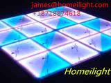 banquete de casamento Dance Floor do diodo emissor de luz DJ do estágio do assoalho de dança de 1*1m DMX RGB