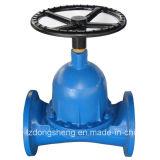 Klep van Diaphgram van de Waterkering van het Gietijzer de Rubber Gevoerde