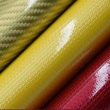 パテントPUの革、エナメルを塗られた袋の革、エナメルの靴革