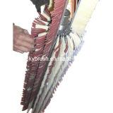 Chanvre de sisal et balai de mélange de papier sablé pour la machine de sablage (YY-136)