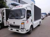 트럭 최신 판매를 광고하는 Sinotruk HOWO 4*2 LED