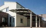 Luz de prefabricados Telhado Plano Estrutura de aço Telheiro (FLM-C-041)