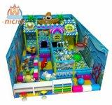 Terrain de jeux intérieur commercial attrayant d'enfants/ intérieur de l'équipement de terrain de jeu/Naughty Château