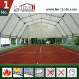 Tienda del palmo del claro de Liri los 30m para el acontecimiento deportivo, el tenis, el baloncesto y el balompié grandes