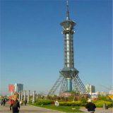 Башня стали угла телевизионной передачи
