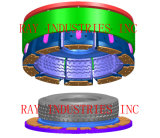 Fabricante Steel / Aluminium / Aluminium TBR Segments Tire / Tire Mold
