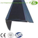 Incidente de escada, escopo de PVC, Nosing nos escoramentos luminosos metálicos