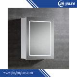 5mmアルミニウムは浴室のためのミラーのキャビネットの側面図を描いた