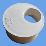 Évacuation de PVC d'ajustage de précision de pipe de Dwv réduisant le couplage