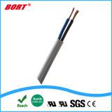 2 Core 2x0.75mm2 H05VV-F Câble Cordon d'alimentation d'approbation VDE