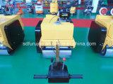 Doppelte Dieseltrommel-Minihandasphalt-Rolle für Verkauf (FYL-S600C)