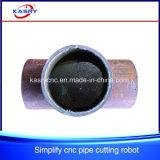 Einfache runde Rohr-Ausschnitt-Maschine für kupfernes Gefäß-Eisen-Rohr