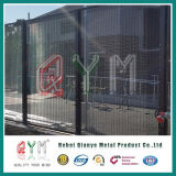 Antizaun-/PVC-überzogenes Sicherheits-Zaun-Gefängnis-Ineinander greifen-Fechten des aufstiegs-358