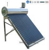 CE aprovado Evacuado do tubo inoxidável aquecedor solar de aço (80L-350L)