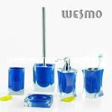 De blauwe Toebehoren van het Bad Polyresin (WBP0300A)