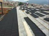 Unti-Verblassen farbiges überzogenes Dach-Steinblatt, Schindel-Fliese-Metalldach-Fliesen