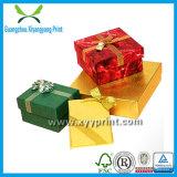 Venta al por mayor de encargo del rectángulo de papel del regalo de la alta calidad