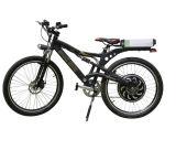 Sinewave 관제사에서 건축되는 마술 파이 모터를 가진 새로운 전기 자전거