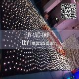 Schwarzer Trennvorhang-Leuchte-Großverkauf des Gewebe-LED