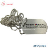돋을새김된 3D Design Bronze Color Dog Tag Custom