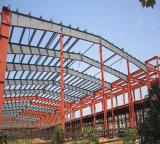 Стальные конструкции здания рамы сегменте панельного домостроения в мастерской