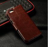 Geval het van uitstekende kwaliteit van het Leer van de Tik Pu van de Luxe voor iPhone 6 het Mobiele Geval van de Dekking van de Telefoon