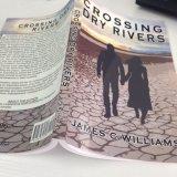 Книжное производство книги в мягкой обложке Softcover светотеневое романное
