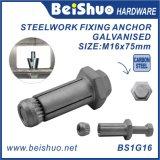 Болт расширения и втулка анкера для стальные изделия