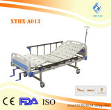 수동 참을성 있는 침대를 접히는 중국 제조자 병원 입원 환자 배려 금속