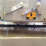 Assoalho de madeira que faz a máquina para a estaca