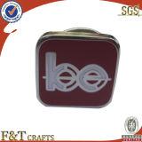 Pino de lapela personalizada promocional barato Emblema de Metal Monograma do esmalte (fdbg0147W)