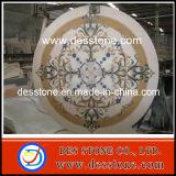 Piedra natural del azulejo de piso del patrón del mármol del medallón (DES-MDL05)