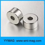 De aangepaste Super Sterke Magneet belt dun de Magneet van het Neodymium voor Spreker