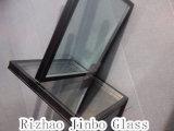 絶縁されたガラス空のガラス省エネガラス艶出しガラス(JINBO)