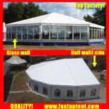Tent van de Markttent van de Muur van het Glas van Fastup de Multi Zij voor de Gast van Seater van de Mensen van de Diameter 10m 100 van Mekka Hajj