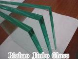 승인되는 Ce/SGS/CCC로 건축을%s 4-19mm 명확한 강화 유리 (JINBO)