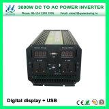 3000W Onda senoidal modificada Alquiler inversores de energía (QW-M3000)
