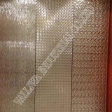 Plaque d'acier inoxydable pour l'ascenseur