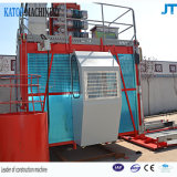 Double élévateur modèle de construction de la cage Sc100/100 pour la construction