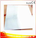 120V 600W 2 mm de placa de aluminio Termoformado 600 * 600 mm de caucho de silicona Calentador 120V 600W