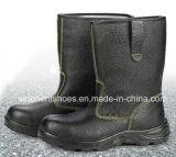 Alti pattini di sicurezza alla moda del cuoio spaccato della caviglia Rh104