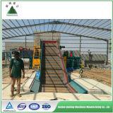 Máquina horizontal hidráulica de la prensa del heno