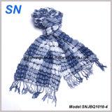 2018의 여위는 줄무늬에 의하여 검사되는 겨울 온난한 경례군악 거품 스카프