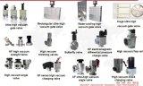 Valvola a saracinesca manuale con la valvola a saracinesca della flangia di iso (alluminio)/di vuoto/grande valvola a saracinesca