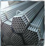 Q195 1.5 pulgadas que cercan el tubo de acero soldado redondo del carbón suave