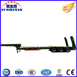 80t Hidráulica Lowbed / Low Deck / Low Loader Cargo / Utility Semi Truck Trailer
