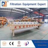 Pressa idraulica del filtro a piastra dell'alloggiamento della DZ per l'asciugamento dei residui