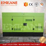 Heißes Set des Verkauf Wechselstrom-einphasig-wassergekühltes Dieselgenerator-80kw